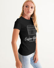 Load image into Gallery viewer, Coffee Before Talkie Women's Graphic Tee