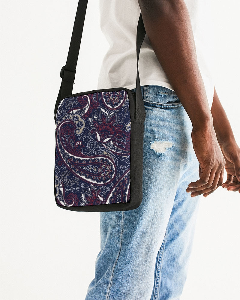 Paisley Beauty Messenger Pouch