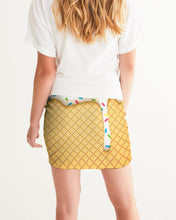 Load image into Gallery viewer, Ice cream cone Women's Mini Skirt