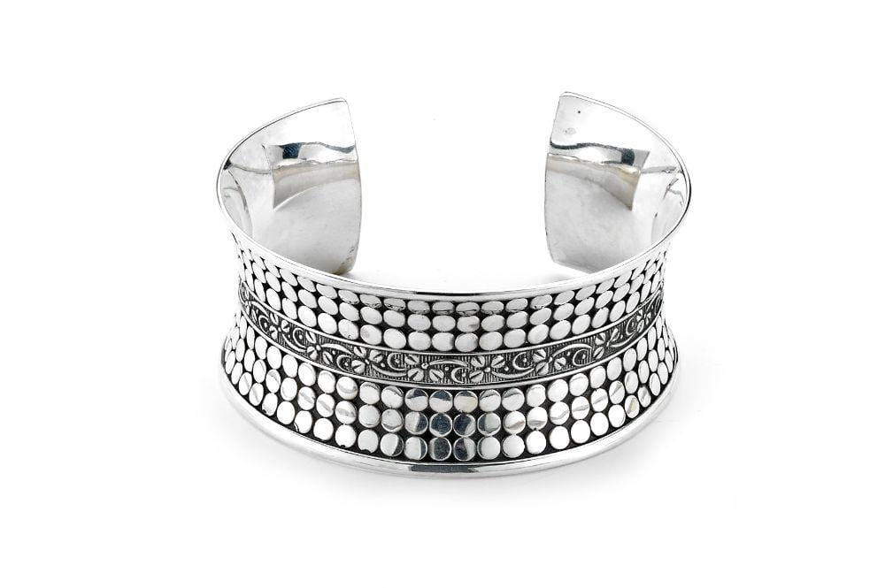 Samuel B. BANGLE Iket Bangle Silver