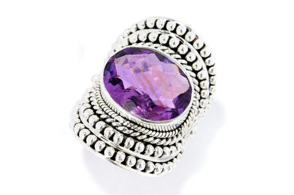 Samuel B. RING Beloved Ring Amethyst / 5