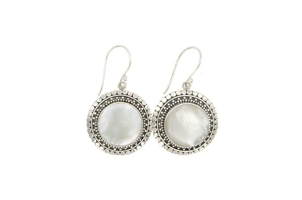 Samuel B. EARRING Corona Earrings- Mother Of Pearl Mother Of Pearl