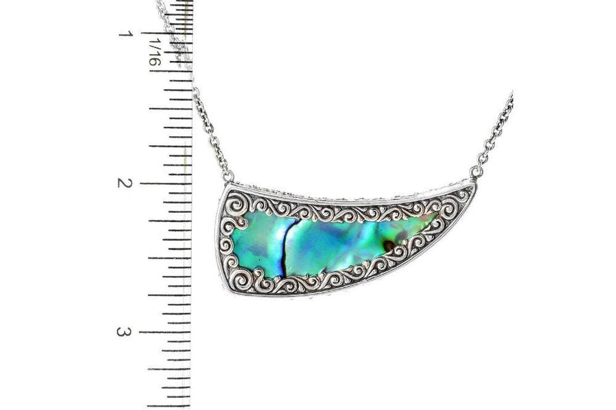 Samuel B NECKLACE CRESCENT MOON PENDANT