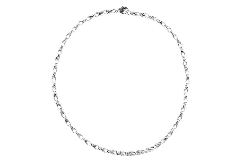 Samuel B CHAIN EMBRACE NECKLACE SILVER / 18""