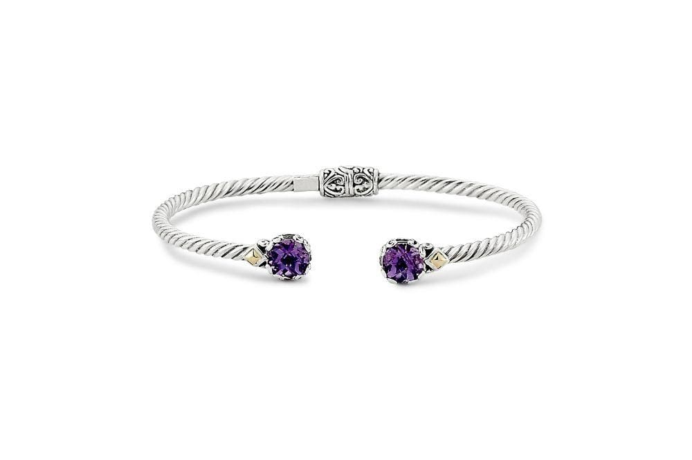 Samuel B. Jewelry BANGLE GLOW BANGLE AMETHYST
