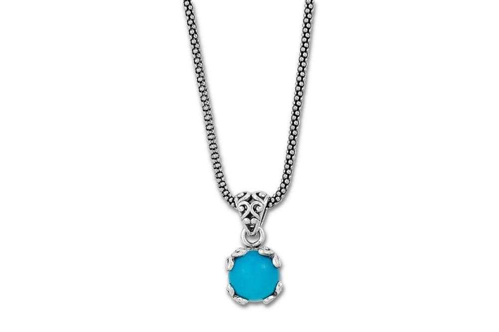 Samuel B. NECKLACE Glow Necklace- Turquoise Sleeping Beauty Turquoise