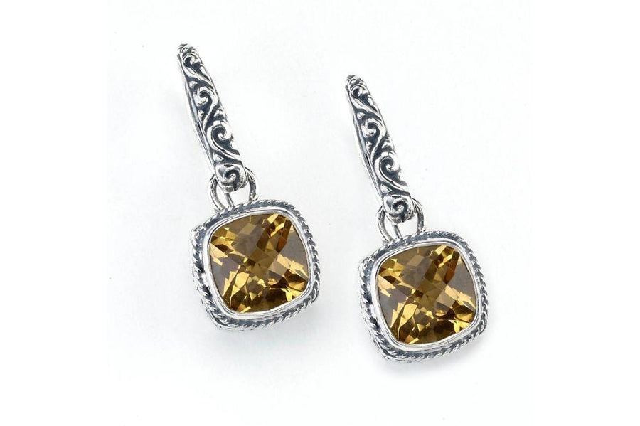Samuel B. EARRING Honesty Earrings- Citrine Citrine