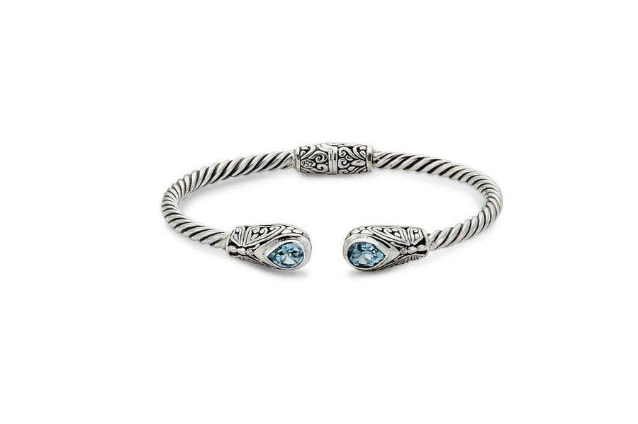 Samuel B BANGLE KULKUL BANGLE BLUE TOPAZ