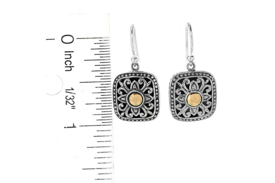 Samuel B EARRING MENJU EARRINGS SILVER AND GOLD