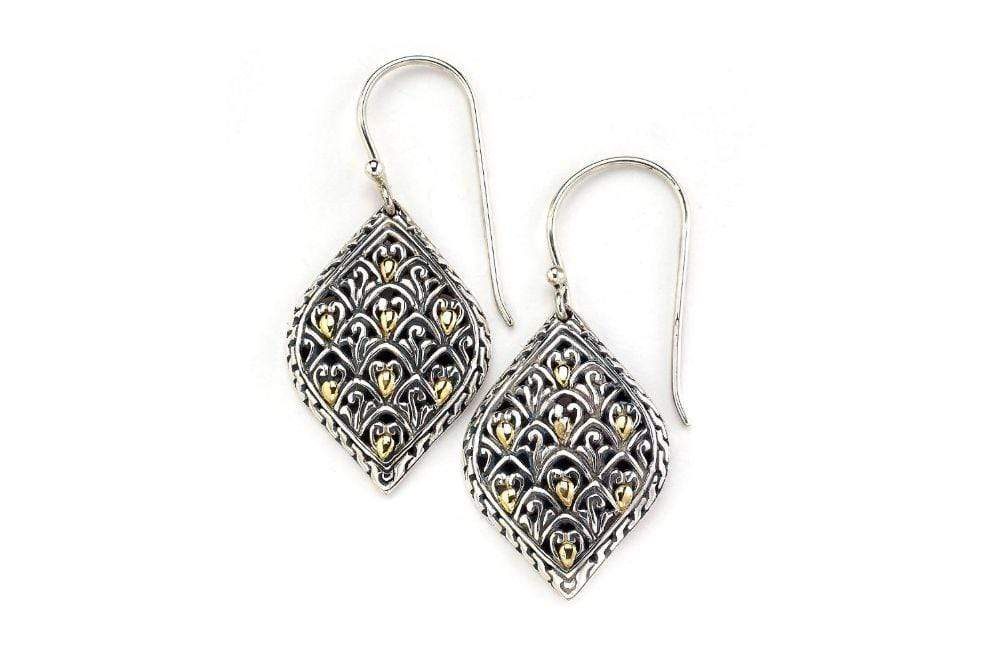 Samuel B EARRING MYSTIC FOREST EARRINGS SILVER AND GOLD