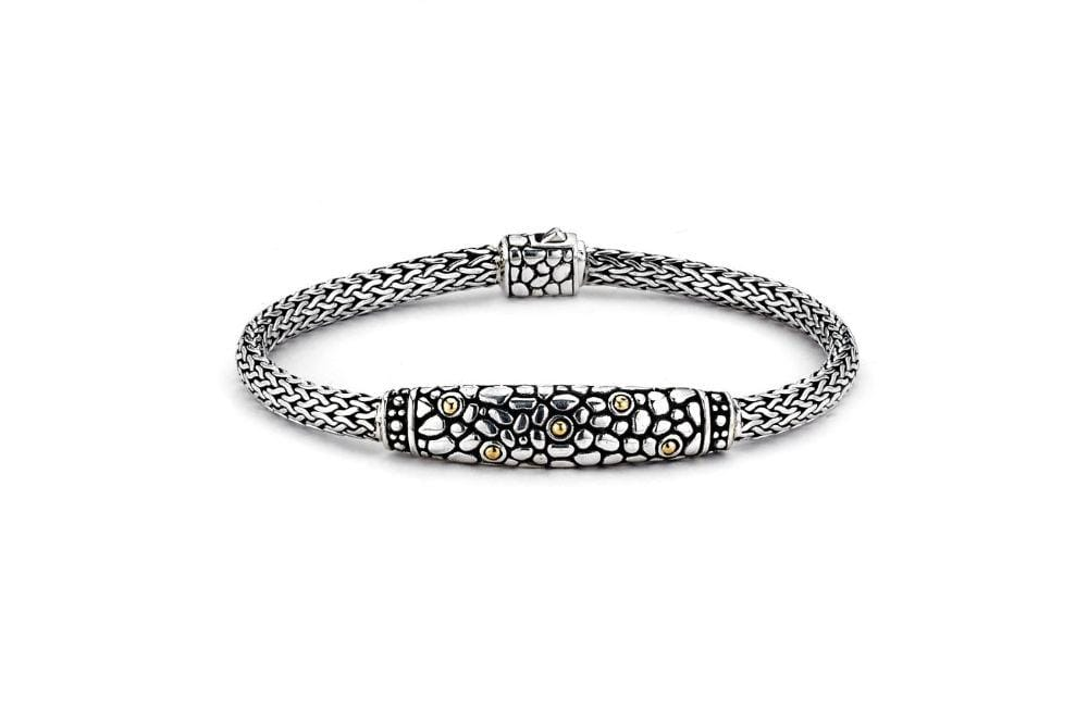 Samuel B BRACELET MYSTIQUE BRACELET SILVER AND GOLD