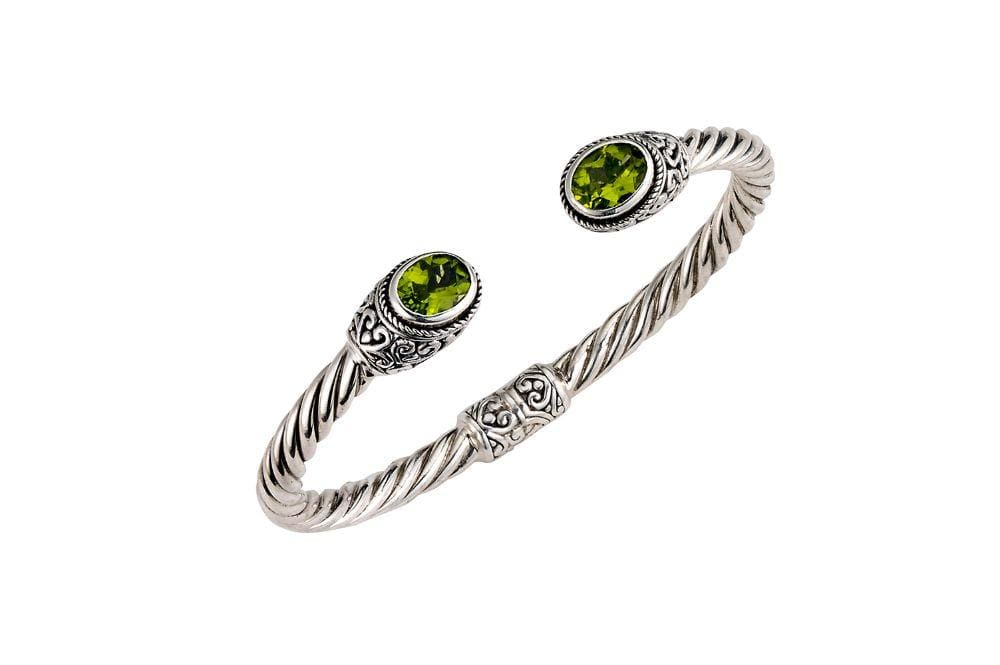 Samuel B. BANGLE Paris Bangle- Peridot Peridot