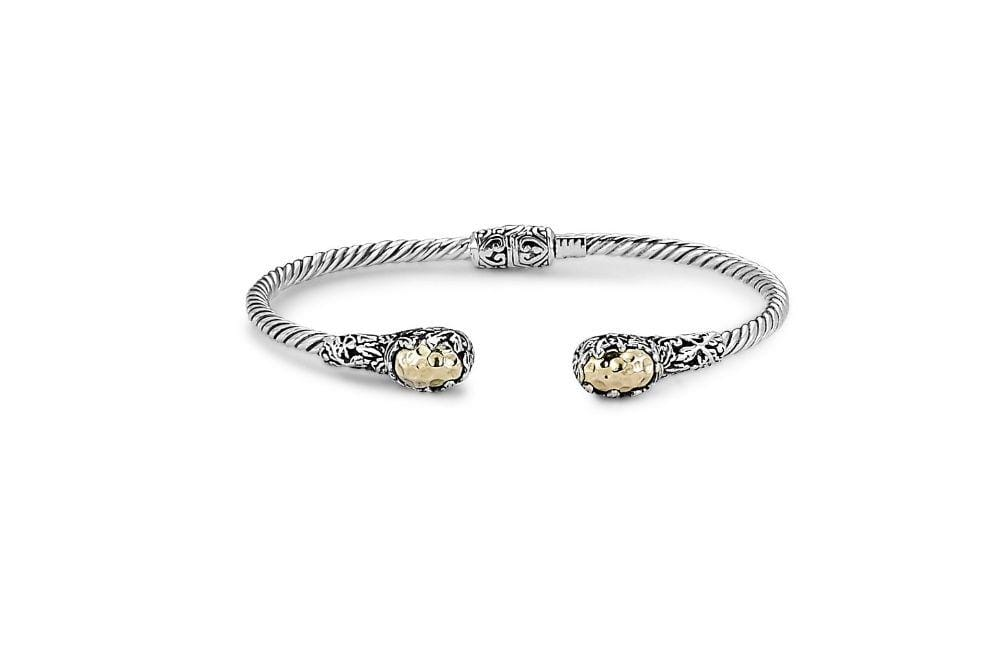 Samuel B. BANGLE Raung Bangle- Silver And Gold Silver And Gold