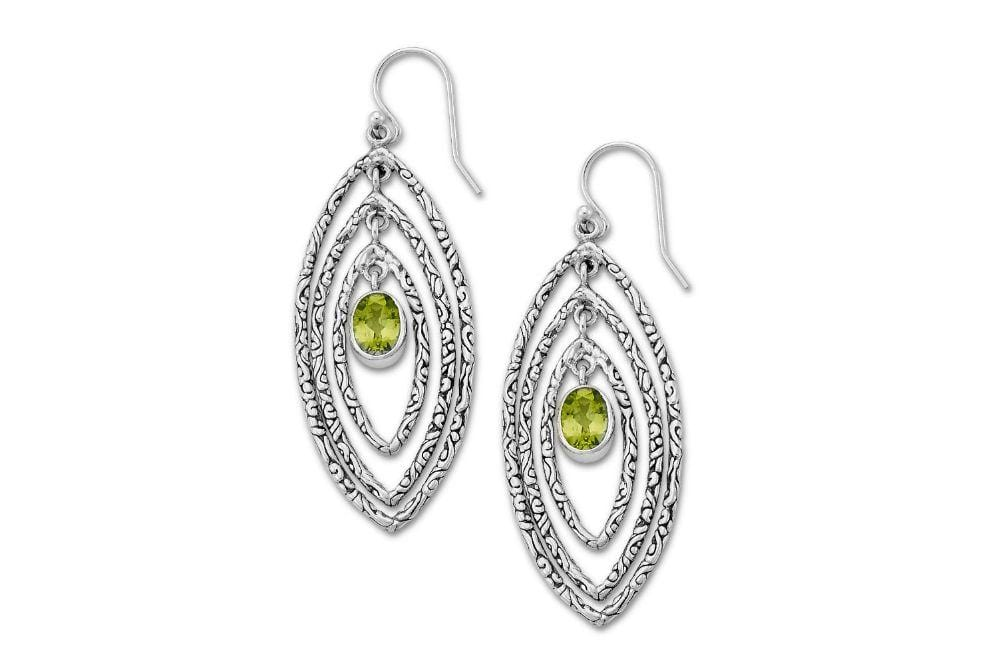Samuel B. EARRING Samaya Earrings- Peridot Peridot