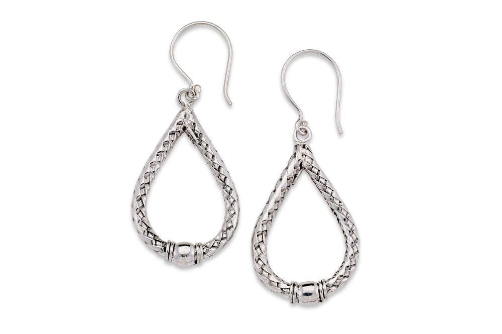 Samuel B EARRING Samui Earrings Silver