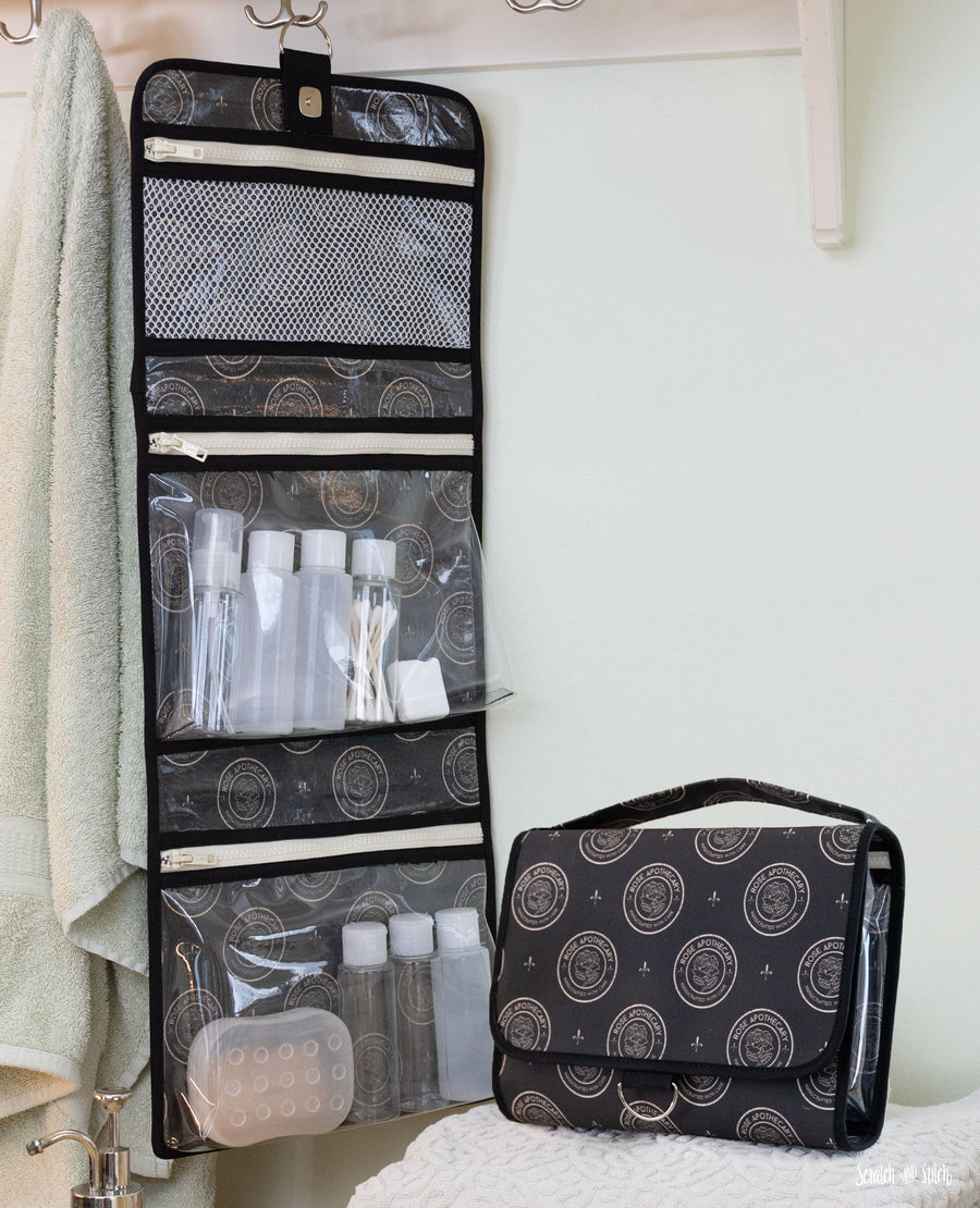 Easy Toiletry Bag Sewing Pattern