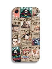 Anime Wanted Pirates Mobile Cover - ComicSense