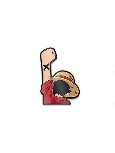 Anime Luffy Nakam Pose Pin - ComicSense