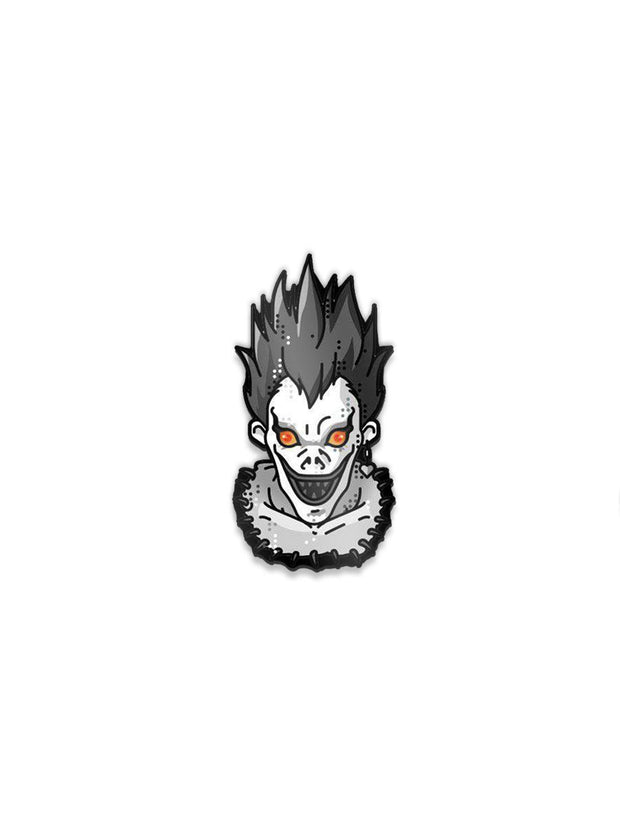 Anime Ryuk Face Pin - ComicSense