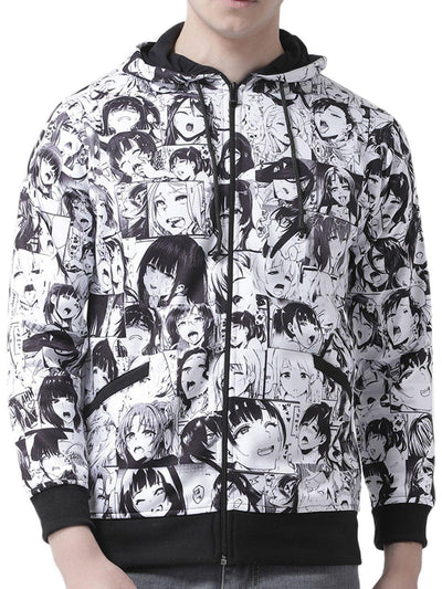 Ahegao - Hoodie of Culture Anime Hoodies by ComicSense
