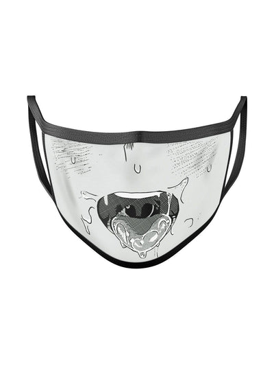 Ahegao Face Mask Anime Face Masks by ComicSense