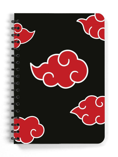 Akatsuki Cloud Spiral Notebook Anime Notebooks by ComicSense
