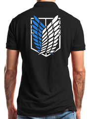 Anime Wings of Freedom Polo Shirt - ComicSense