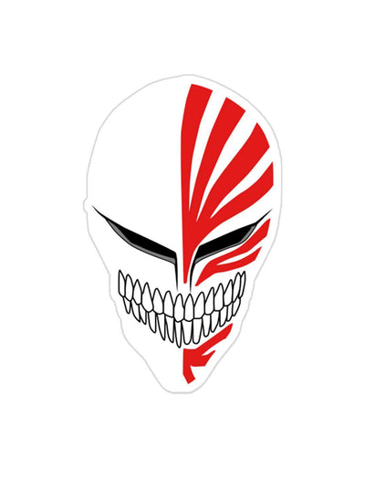Ichigo Hollow Mask Sticker Anime Stickers by ComicSense