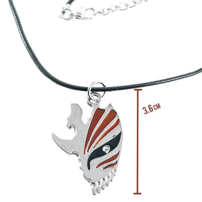 Anime Bleach Hollow Mask Necklace - ComicSense