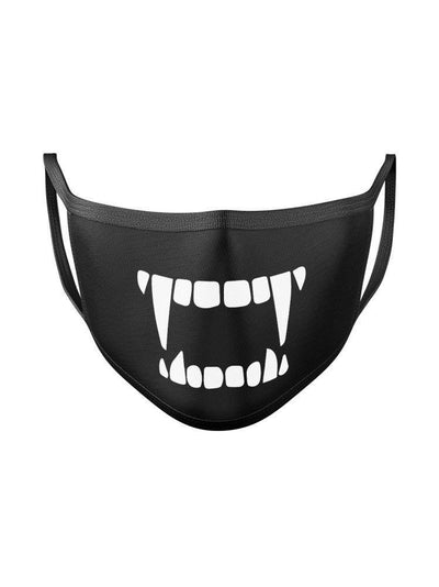 Anime Scary Expression Face Mask - ComicSense