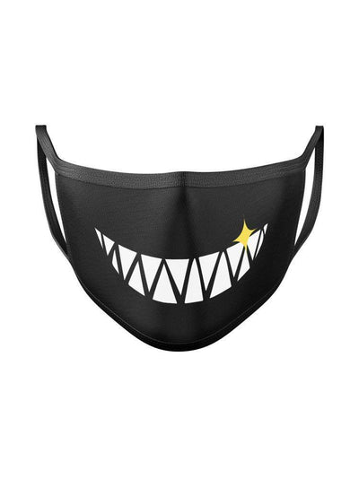 Smile Expression Face Mask Anime Face Masks by ComicSense