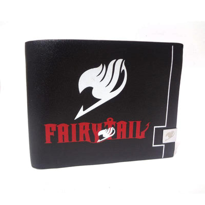 Anime Fairy Tail Guild Logo Wallet (Black) - ComicSense