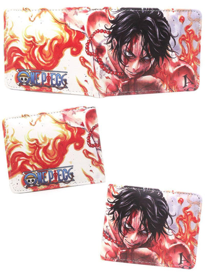 Anime Fire Fist Ace Wallet - ComicSense