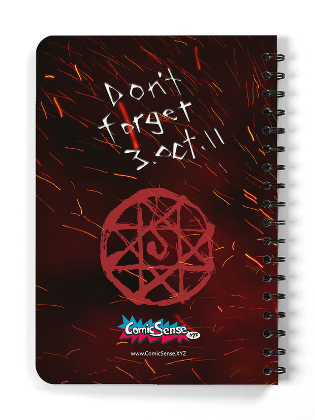 Anime Transmutation Circle Notebook - ComicSense