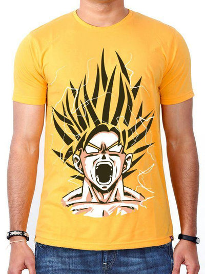 Anime Earth's Mightiest Saiyan (Yellow) - ComicSense