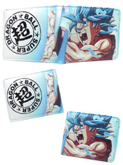 Anime Goku SS God Blue Wallet - ComicSense