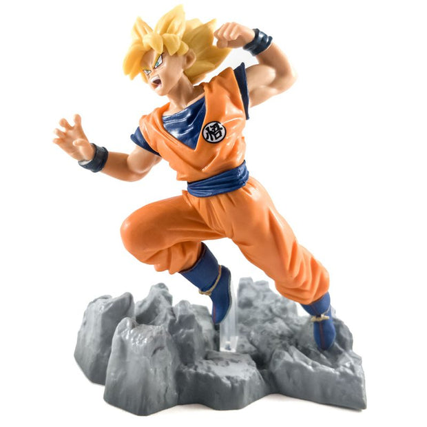 Anime Goku SS Punch Action Figure - ComicSense