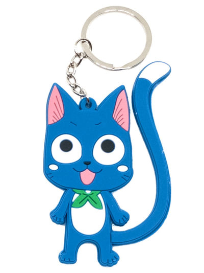 Anime Happy Double Sided Keychain - ComicSense