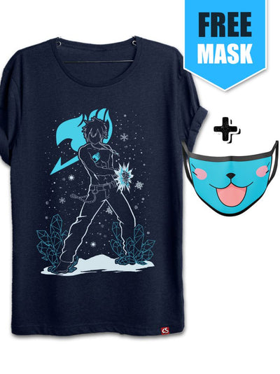 Anime Ice Mage [+Happy Face Mask] - ComicSense