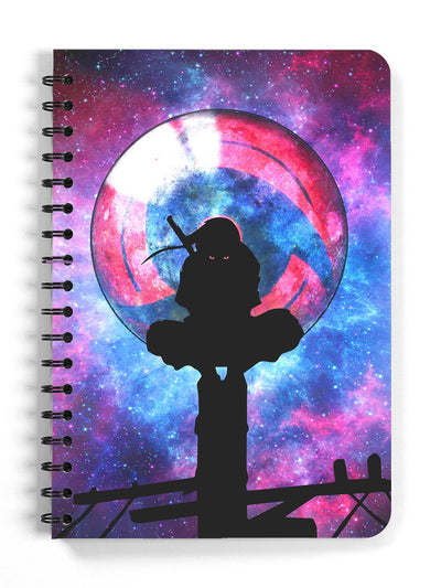 Anime Hero's Sacrifice Spiral Notebook - ComicSense
