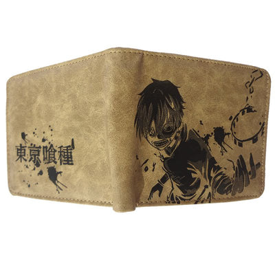 Anime Kaneki Ken Broken Chains Wallet (Brown) - ComicSense