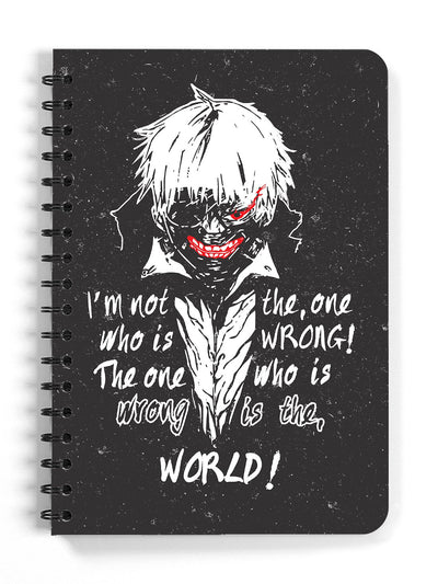 Anime I'm Not Wrong Spiral Sketchbook (Blank Pages) - ComicSense