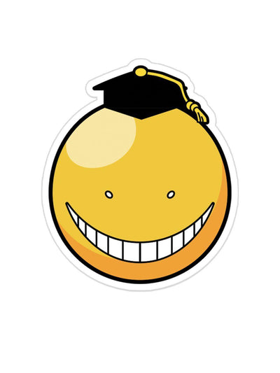 Koro Sensei Face Sticker Anime Stickers by ComicSense