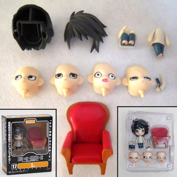 Anime L Lawliet Death Note Action Figure Toy - ComicSense