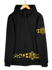 Trafalgar Law (New World) Hoodie Anime Hoodies by ComicSense