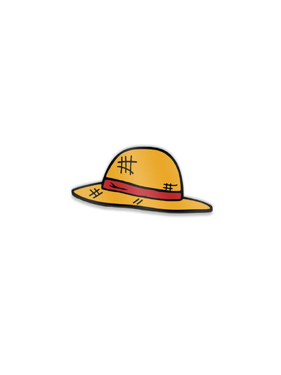 Anime Straw Hat Pin - ComicSense