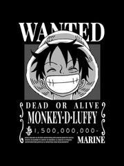Anime Wanted Luffy (Sweatshirt) - ComicSense