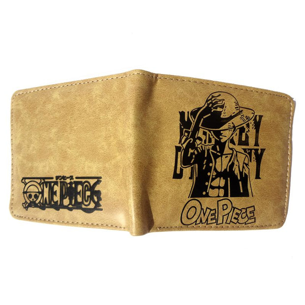 Anime Monkey D. Luffy Wallet (Brown) - ComicSense