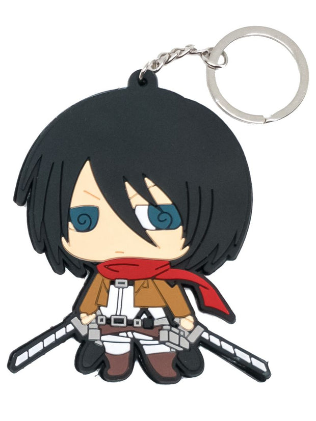 Anime Mikasa Double Sided Keychain - ComicSense