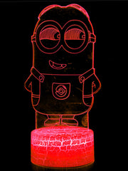 Anime Minion Led Night Lamp (Multi Color) - ComicSense
